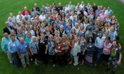40th Reunion -  class picture